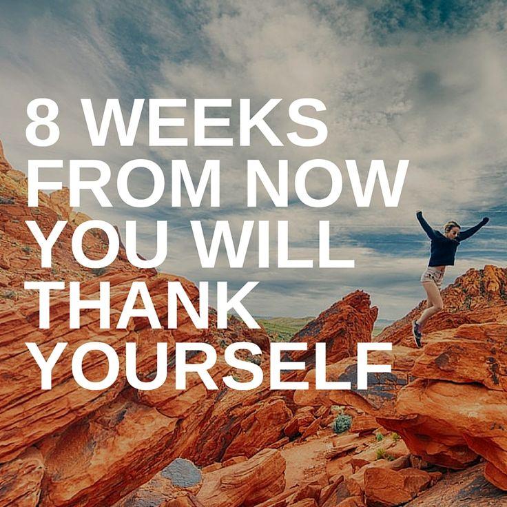 The 8 week challenge starts tomorrow!
