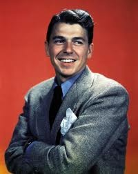 A Young Ronald Reagan had dashing good looks.  You can see even a young Ronald Reagan has charm and the great leader is within.