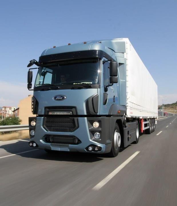 2013 Ford Cargo built in Turkey