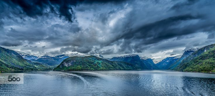 Fjord Pano II by Paulo Costa on 500px