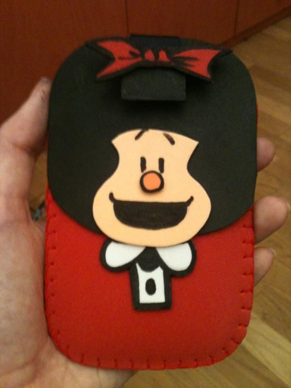 Mafalda Foam Mobile Case by anapeig on deviantart