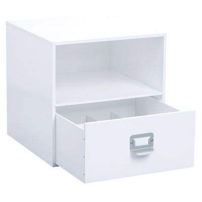The Recollections Organizer Cube With Drawer Shelf Works Together All Modular Storage Perfect Marriage Of Hidden And Viewable