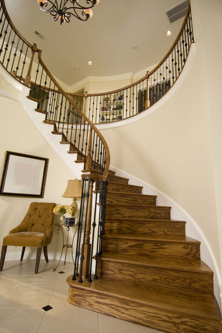 156 best stairs staircase update stair ideas images on for Foyer staircase decorating ideas