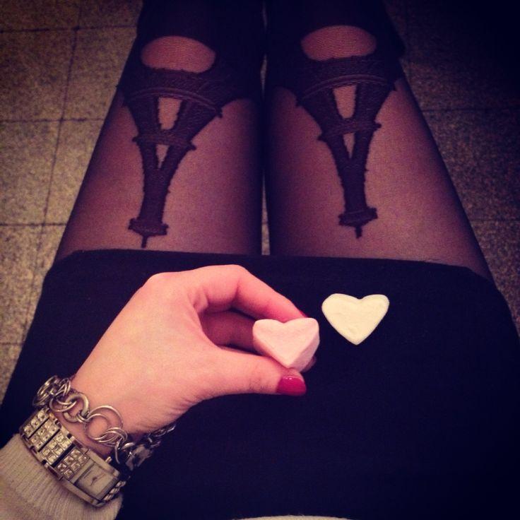 #me #love #parisienne #collant #mode #style #fashion