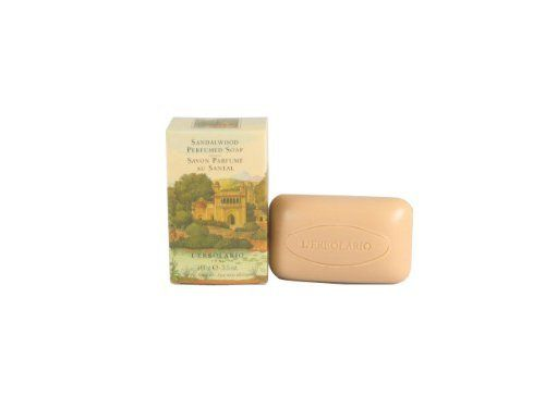 Sandalo (Sandalwood) Perfumed Soap Bar by L'Erbolario Lodi by L'Erbolario Lodi. $7.00. Sandalwood Perfumed Soap Bar with Avocado Oil by L'Erbolario Lodi provides a sensation of well-being and relaxation. Sandalwood Perfumed Soap Bar transforms bathing and showering into moments of personal and beneficial delight. Its amazing vegetable-based formula is gentle on the skin while keeping it moisturized and smooth. Sandalwood Perfumed Soap Bar bestows the pleasure of a soft, ...