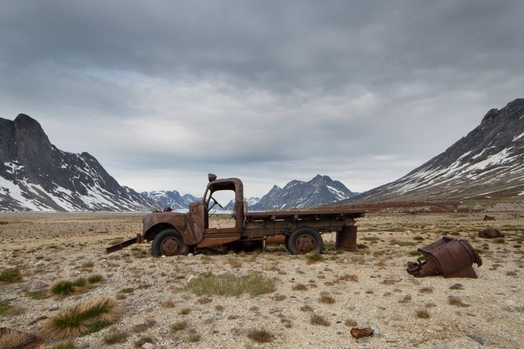 Eerie photos of WWII junk in Greenland - Business Insider