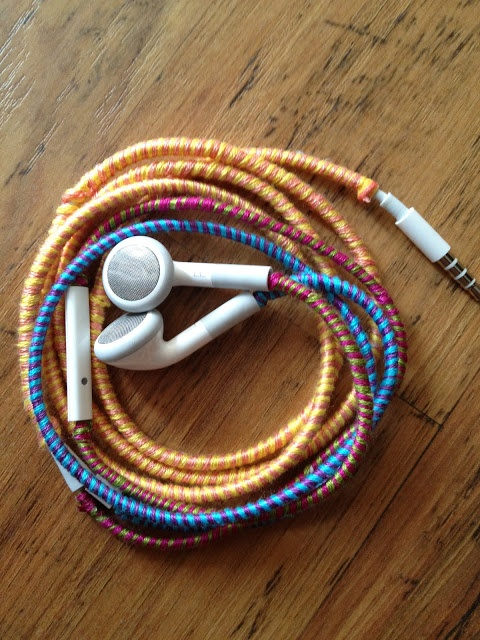 Start Acting My Age: Wrapped Headphones
