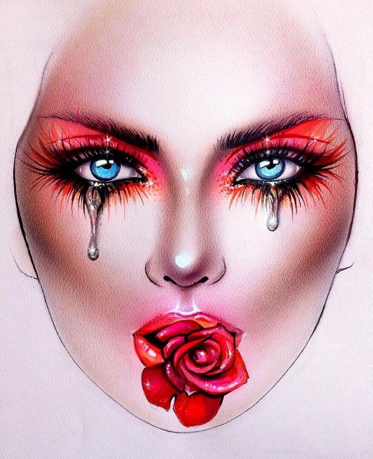 "6,378 Likes, 34 Comments - Sergey X (@milk1422) on Instagram: ""#artist@milk1412  ✨ #mylove #myart #myartistcommunity #myartistcommunityrussia #makeup #makeupart…"""
