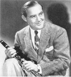 Benny Goodman, Bandleader, Clarinetist, King of the Swing (1909-1986).