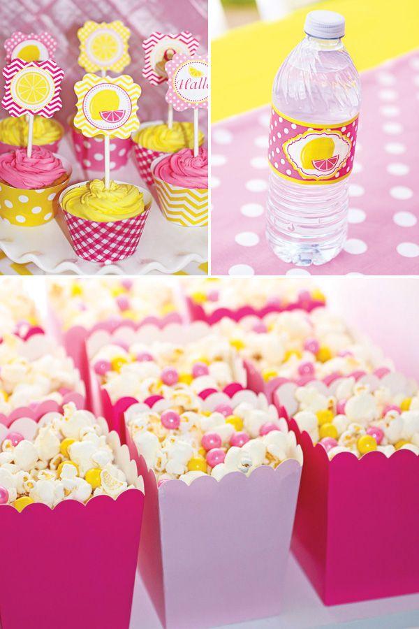 Sweet Summertime Pink Lemonade Birthday Party
