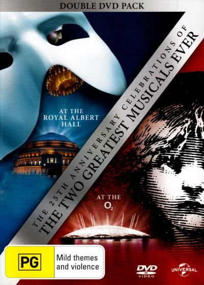 Two best productions of Les Misérables and Phantom of the opera. Les Misérables:Ramin Lea The Phantom of the Opera:Ramin Sierra