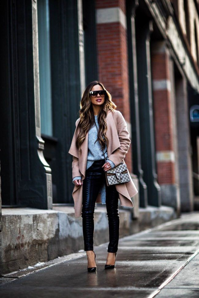 1e15de0f02dc fashion blogger mia mia mine wearing a camel coat from nordstrom and black christian  louboutin heels