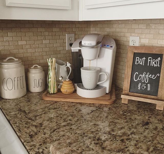 Kitchen Counter Organization Ideas best 25+ kitchen counters ideas on pinterest | granite kitchen