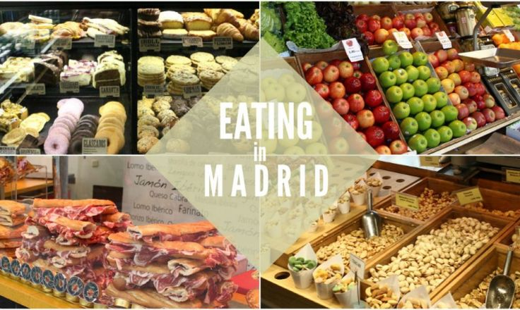 Guida per foodies a Madrid.