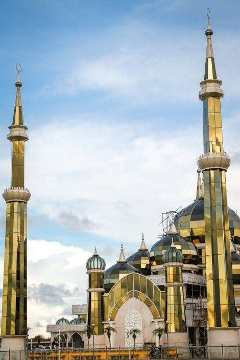 The Crystal Mosque (Masjid Kristal) in Kuala Terengganu, Malaysia