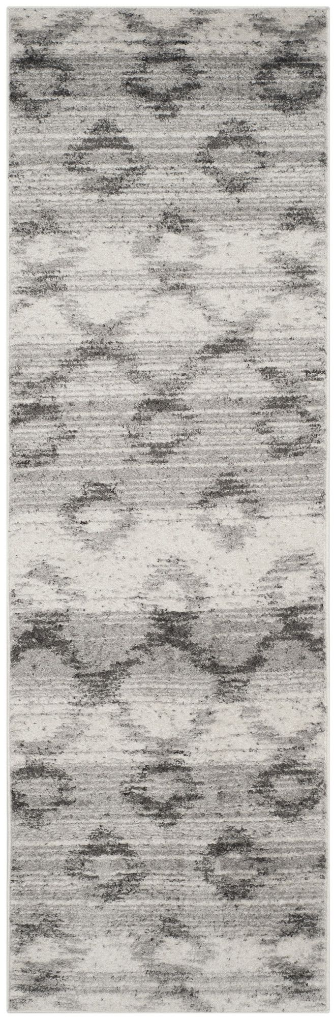 Costa Mesa Silver/Charcoal Area Rug