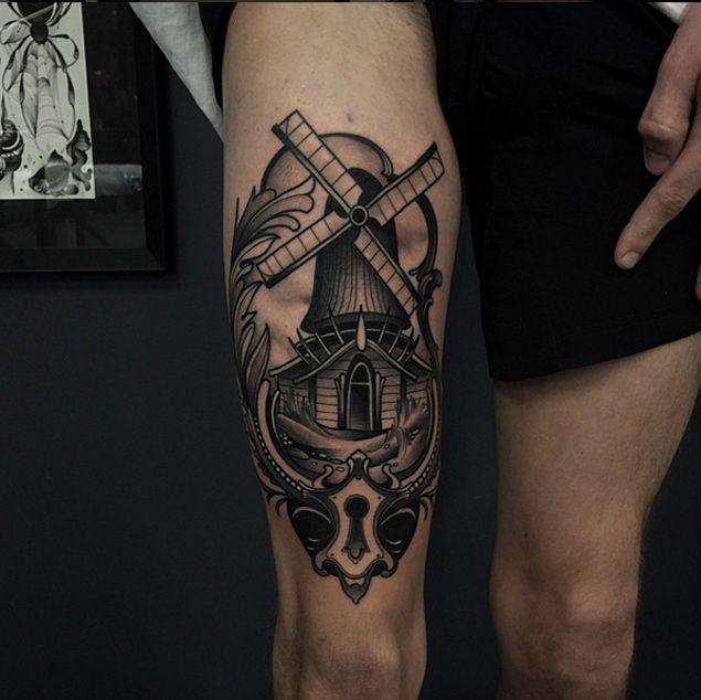 Windmill-tattoo