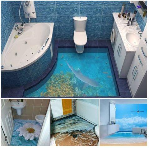 62 best bathroom images on pinterest bathroom bathrooms for Awesome bathroom 3d floor designs