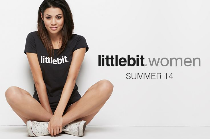 Quality womens basic tees from littlebit.com. Wear them relaxed with a pair of jeans or denim shorts, or dress them up with a jacket. #littlebit #womensclothing #womenstees #scoopneck #basics #tees #streetstyle