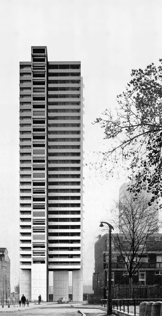 Apartment Highrise / E2A Eckert Eckert