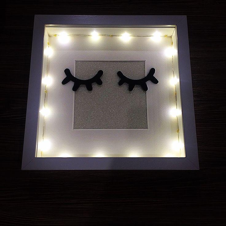 Ideal Produkttitel Sleepy Eyes Rahmen mit Beleuchtung Shopname Jessis DIYs Ganz neu ist der