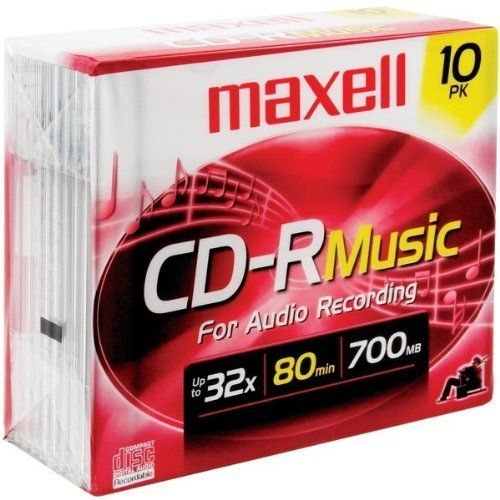 251 best electronics images on pinterest consumer electronics maxell 80min 10pk cdr musicaudio case pack 2 by maxell 5288 maxell fandeluxe Images