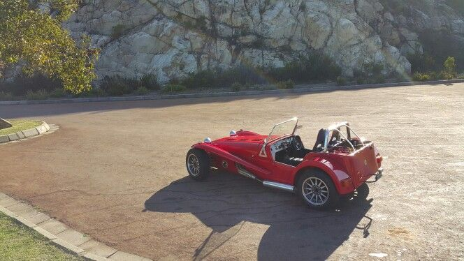 Outeniqua Pass. Lotus Super Seven