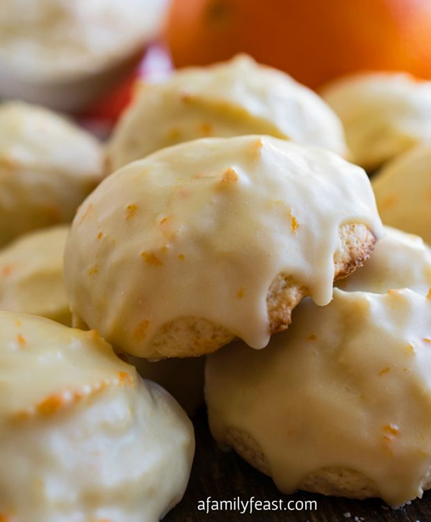 Orange-Ricotta-Cookies Recipe: http://www.recipechart.com ...