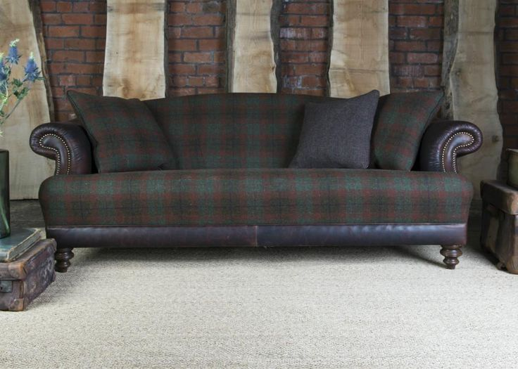 Tetrad Harris Tweed Taransay Sofa Collection   Forest From George Tannahill  U0026 Sons   Tannahillfurniture.