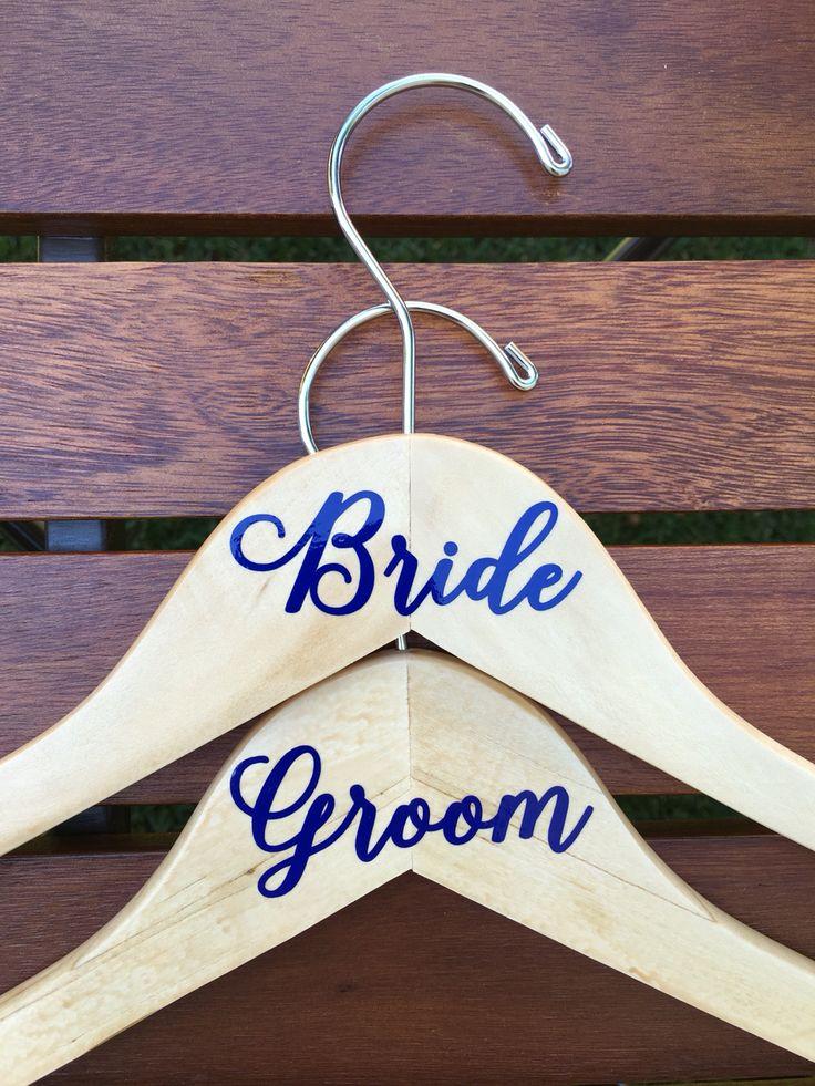 Best Wedding Hangers By Riff Raf Party Favors Images On - Diy vinyl wedding hangers
