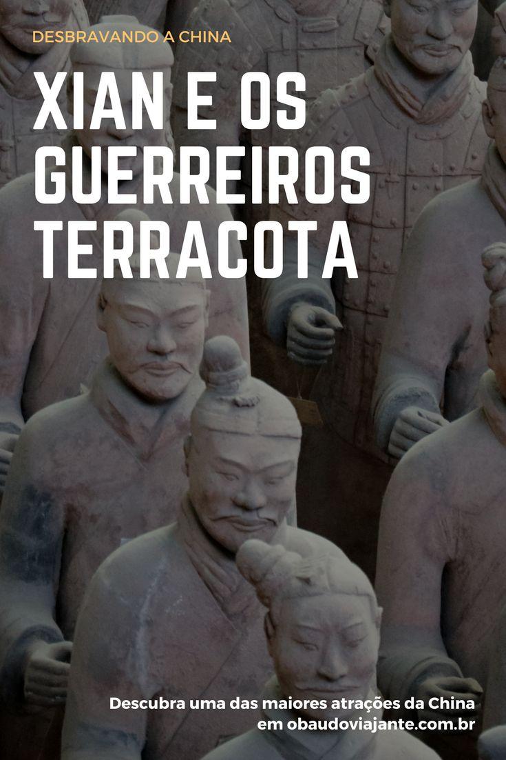 Os guerreiros de Terracota atraem milhares de visitantes para Xian na China. Descubra com a gente por que você deve visitar esse ponto turístico incrível na Ásia.