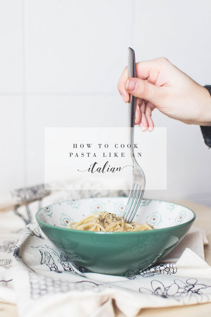 Tips on how to cook pasta from an Italian: two simple but impressive Italian-approved recipes and some pasta basis you should know about!