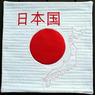 Japan - art quilt