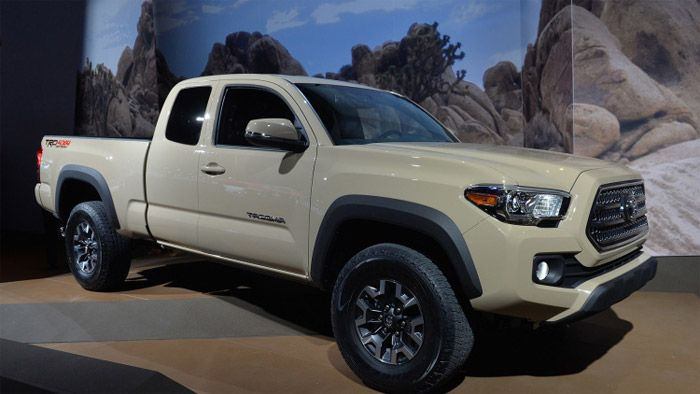 2016 Toyota Tacoma I would love an extended cab in blue