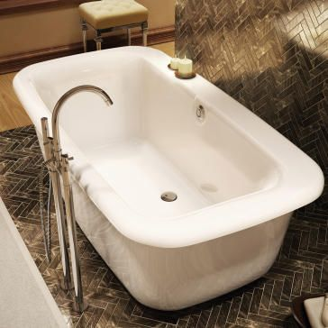 10 Images About Bathtubs On Pinterest Acrylics Soaking Bathtubs And Clawf