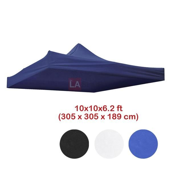 10x10 Ez Pop Up Tent Canopy Replacement Top Color Options Pop Up Tent Canopy Tent Tent