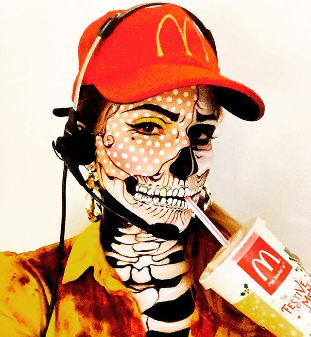 McDonald's Drive-Thru Worker in Litchtenstein Land. Inspired by all the pop…