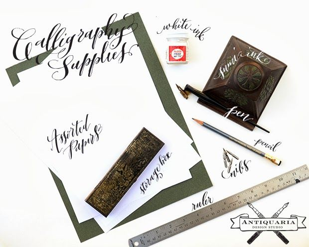 25 best ideas about calligraphy supplies on pinterest Calligraphy tutorial