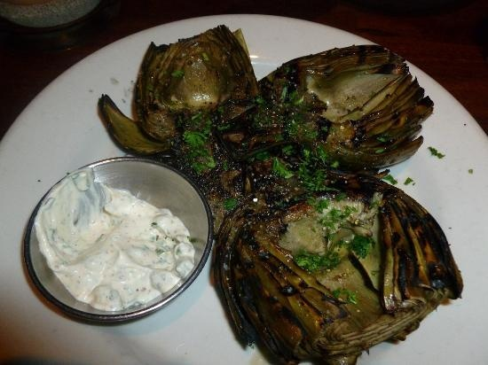 Grilled Artichoke from Rutherford Grill