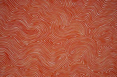 Petr Kvicala (b.1960), from the series Flow, detail of painting No.2, 2009, acrylic on canvas