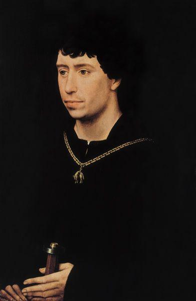 Bild:  Rogier van der Weyden - Karl der Kühne