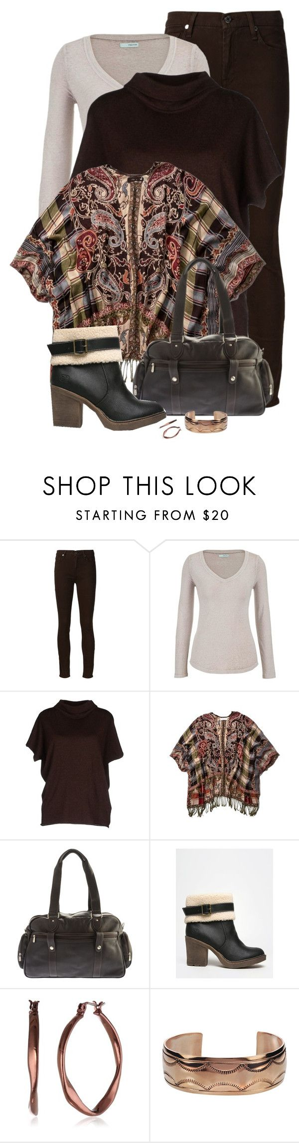 """1/10/16 Layers"" by tararanee ❤ liked on Polyvore featuring 7 For All Mankind, maurices, Alpha Studio, Abercrombie & Fitch, Piel Leather, Dirty Laundry and Vintage America"