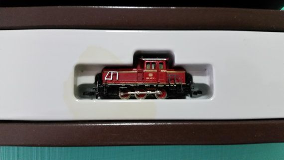 Vintage Marklin Mini-Club Z Scale 8804 Red by trufflepig1 on Etsy