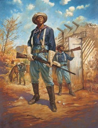 Buffalo Soldiers #1 by james goodridge