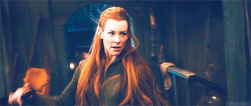 Tauriel in Lake Town