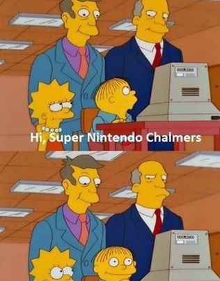 Super Nintendo Chalmers.
