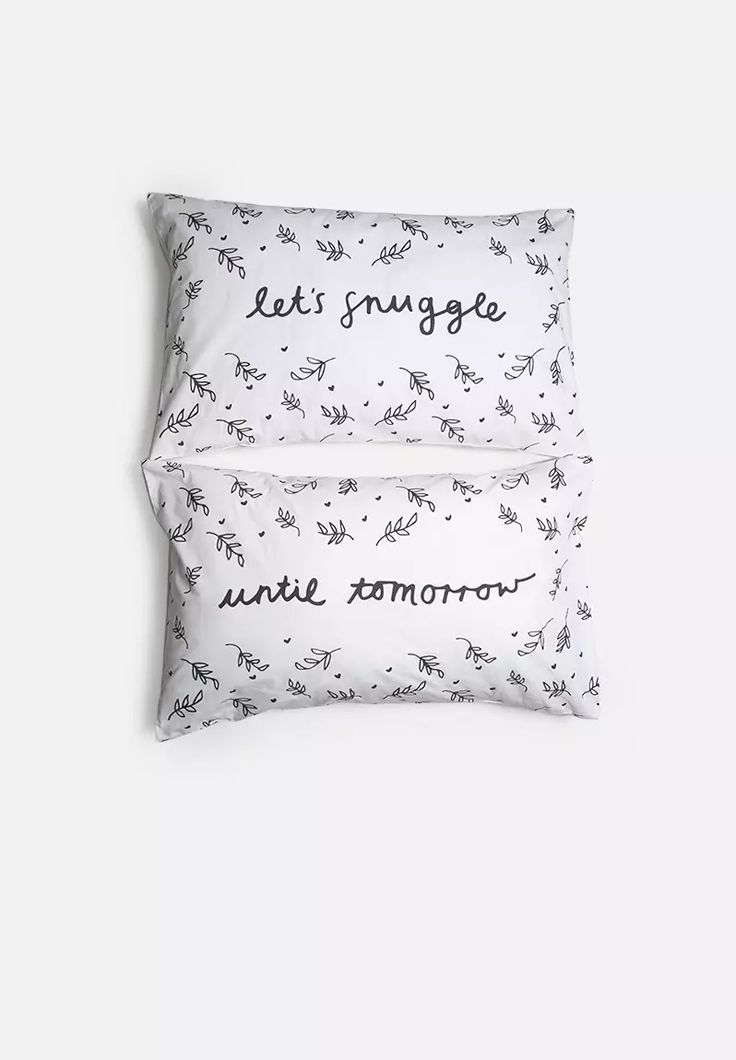 Until Tomorrow Pillowcase Set