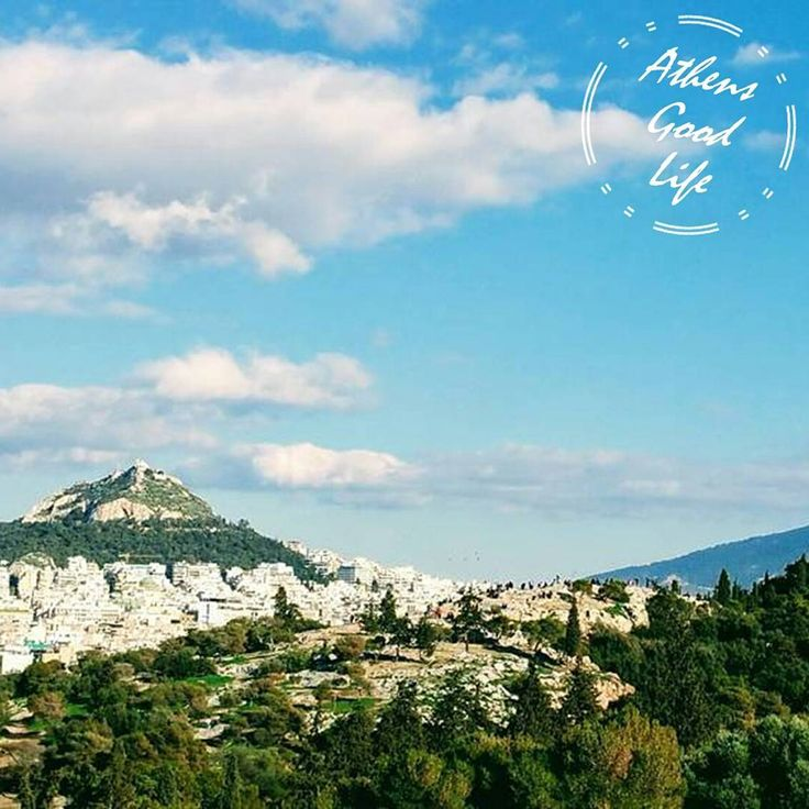 If you want to have an amazing panorama of Athens, try visiting one of the hills around.  #AthensGoodLife #CityBreakAgenda #visitAthens  Photo @athensville