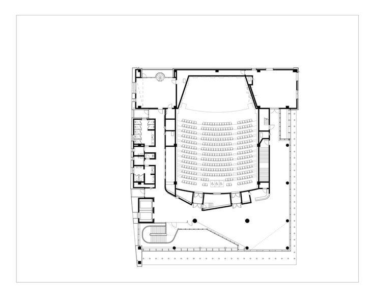 Adagio Valley for Department of Music at University of Seoul,Floor Plan