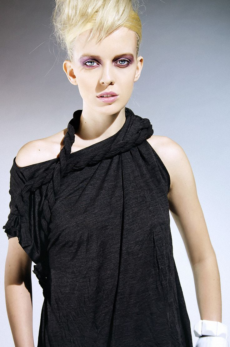 Ewa Morka knitwear collection for winter 08/09 photo: Michal Greg